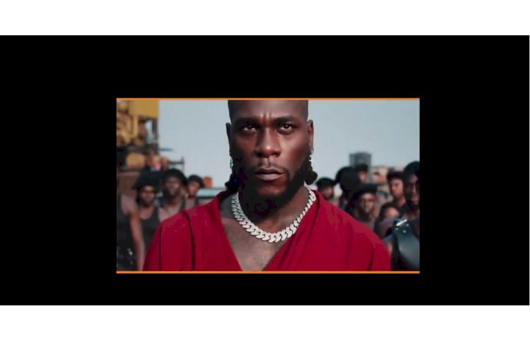 TRAILER FOR BURNA BOY x CHRIS MARTIN ''MONSTERS YOU MADE'' VIDEO