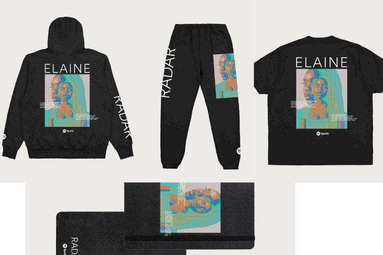 ELAINE X SPOTIFY DROP MERCH