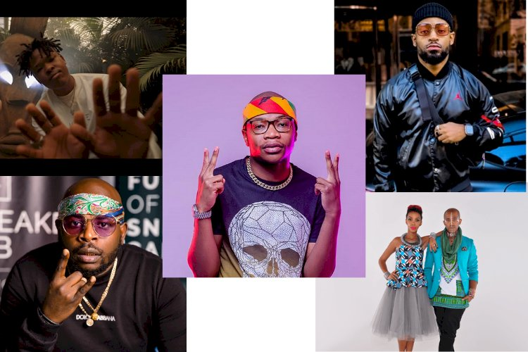 HERE ARE THE TOP 5 ARTISTS WITH THE MOST VIEWS  ON YOUTUBE IN SOUTH AFRICA