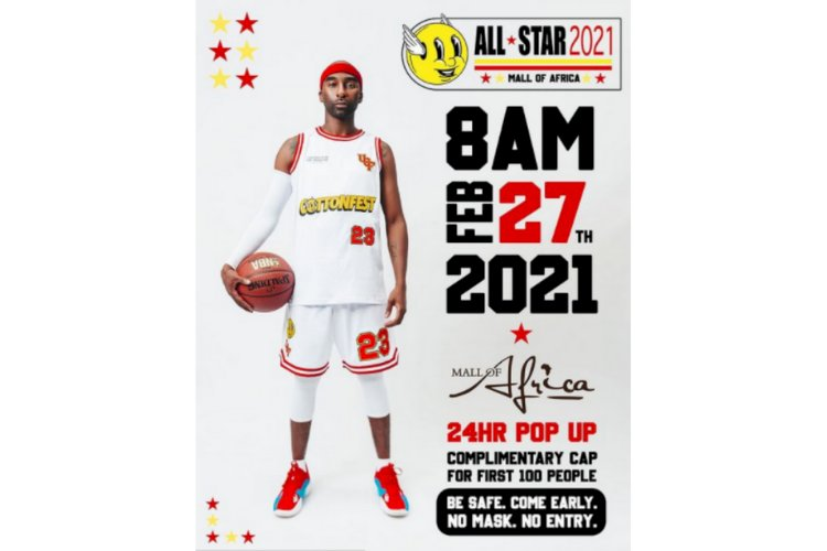 COTTON FEST ''ALL STAR'' POP UP THIS WEEKEND (27 FEBRUARY 2021)