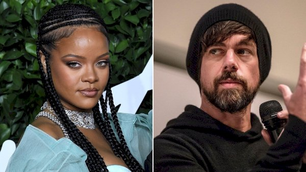 Rihanna partners with Twitter founder and Square CEO Jack Dorsey to fund a $4.2 million grant for domestic violence victims in LA